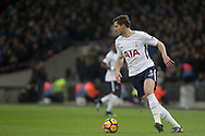 Jan Vertonghen of Tottenham Hotspur in action. <br /> Premier league match, Tottenham Hotspur v Everton at Wembley Stadium in London on Saturday 13th January 2018.<br /> pic by Kieran Clarke, Andrew Orchard sports photography.