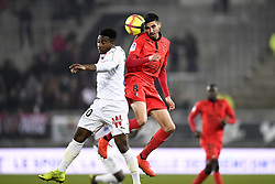 February 23, 2019 - Amiens, France - 08 PIERRE LEES MELOU (NICE) - 20 CHEICK TIMITE  (Credit Image: © Panoramic via ZUMA Press)