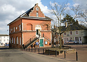 The Shire Hall built 1575 by Thomas Seckford, Market Hill, Woodbridge, Suffolk