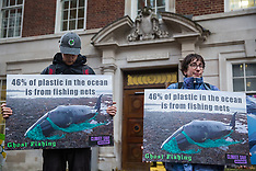 2019-12-06 Protest outside Europe House against super-trawlers