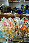 Handmade glass vases
