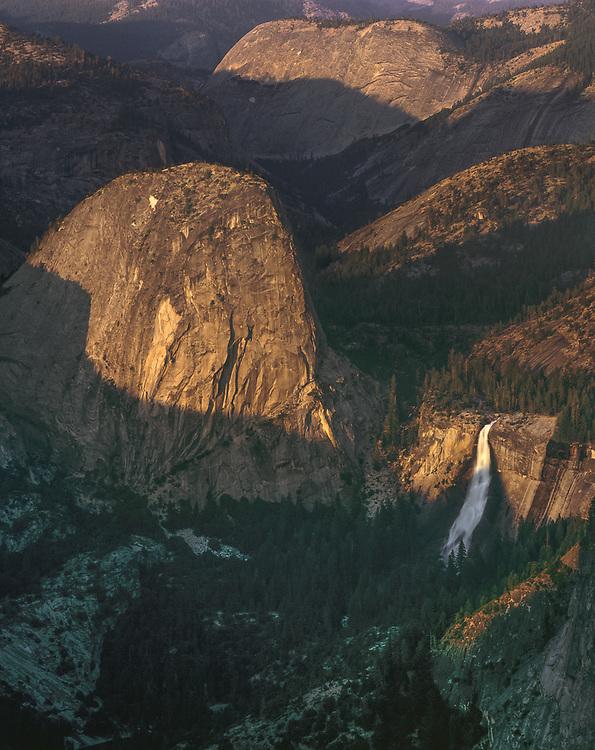 Nevada Falls, summer, Yosemite National Park, California, USA