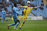 Bristol Rovers defender Tom Lockyer (4) on defensive duties during the EFL Sky Bet League 1 match between Coventry City and Bristol Rovers at the Ricoh Arena, Coventry, England on 7 April 2019.
