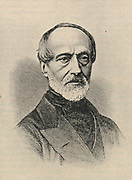 'Giuseppe Mazzini (1808-1872) Italian patriot, lawyer, journalist and activist for the unification of Italy. He spent a number of years in exile in London.'