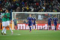 FOOTBALL - FIFA WORLD CUP 2010 - GROUP STAGE - GROUP A - FRANCE v MEXICO - 17/06/2010 - PHOTO FRANCK FAUGERE / DPPI - DESPAIR FRANCK RIBERY (FRA)