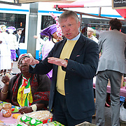 NLD/Amsterdam/20130701 - Keti Koti Ontbijt 2013 op het Leidse Plein, Rijk Groenink
