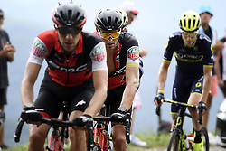 July 8, 2017 - Station Des Rousses, FRANCE - Belgian Greg Van Avermaet of BMC Racing Team pictured in action during the eighth stage of the 104th edition of the Tour de France cycling race, 187,5km from Dole to Station des Rousses, France, Saturday 08 July 2017. This year's Tour de France takes place from July first to July 23rd. BELGA PHOTO YORICK JANSENS (Credit Image: © Yorick Jansens/Belga via ZUMA Press)