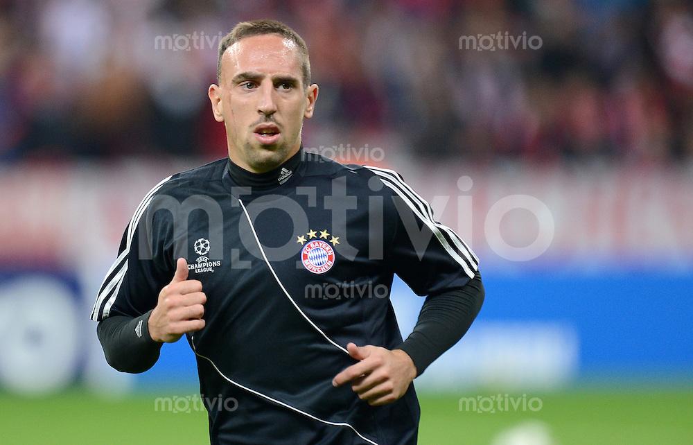 FUSSBALL   CHAMPIONS LEAGUE   SAISON 2012/2013   GRUPPENPHASE   FC Bayern Muenchen - FC Valencia                            19.09.2012 Franck Ribery (FC Bayern Muenchen)
