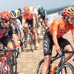 22-08-2020: Wielrennen: NK vrouwen: Drijber<br /> Marianne Vos (Netherlands / CCC Liv)Jeroen Blijlevens (Sports Director of CCC Liv), Danique Braam (Netherlands / Team Lotto Soudal Ladies)