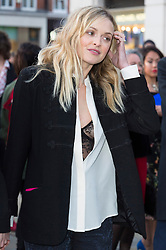 © Licensed to London News Pictures. 04/04/2016. FERNE COTTON attends The Rolling Stones Exhibition Private at The Saatchi Gallery. London, UK. Photo credit: Ray Tang/LNP