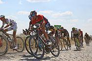 Vincenzo Nibali (ITA - Bahrain - Merida) during the 105th Tour de France 2018, Stage 9, Arras Citadelle - Roubaix (156,5km) on July 15th, 2018 - Photo Ilario Biondi / BettiniPhoto / ProSportsImages / DPPI