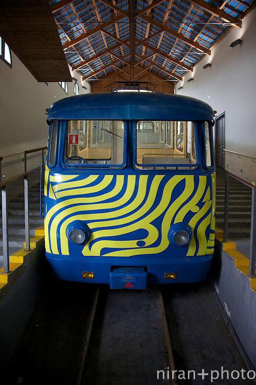 Tibidabo Funicular at Barcelona, Spain