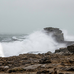 Storm Ciara hits the UK for some on the Dorset coast its surf as usual Weymouth England (Photo by Steven Brennan