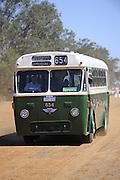 AEC Regal VI 654 bus, formerly used by the Metropolitan Transport Trust (MTT) in Perth, Western Australia. Caversham Historic Motoring Fair. Caversham, Perth, Western Australia.<br /> Sunday, 15th November 2009