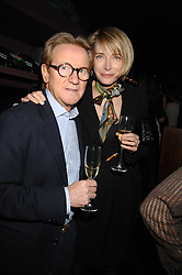JOHN & MARIE SWANNELL at a party to celebrate Imogen Lloyd Webber's 30th birthday and the launch of her Single Girl's Guide held at Vilstead, 9 Swallow Street, London on 27th March 2007.<br /><br />NON EXCLUSIVE - WORLD RIGHTS