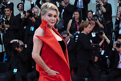 Catherine Deneuve attending the Opening ceremony and The Truth (La Verite) Premiere as part of the 76th Venice Internatinal Film Festival (Mostra) on August 28, 2019. Photo by Aurore Marechal/ABACAPRESS.COM
