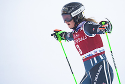 Alice Robinson (NZL) during the Ladies' Giant Slalom at 57th Golden Fox event at Audi FIS Ski World Cup 2020/21, on January 16, 2021 in Podkoren, Kranjska Gora, Slovenia. Photo by Vid Ponikvar
