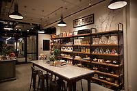 Interiors of Haven's Kitchen in New York City...Photo by Robert Caplin.