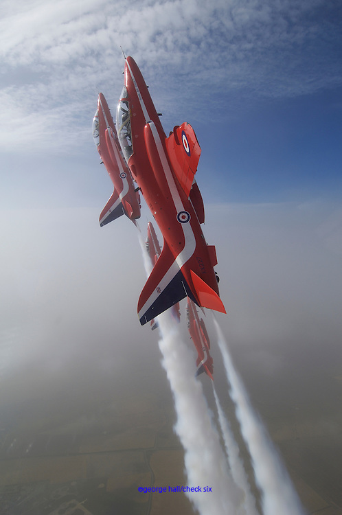 RAF Red Arrow acrobatic air team