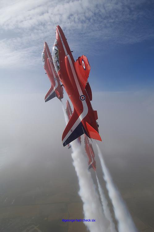RAF Red Arrow acrobatic air team