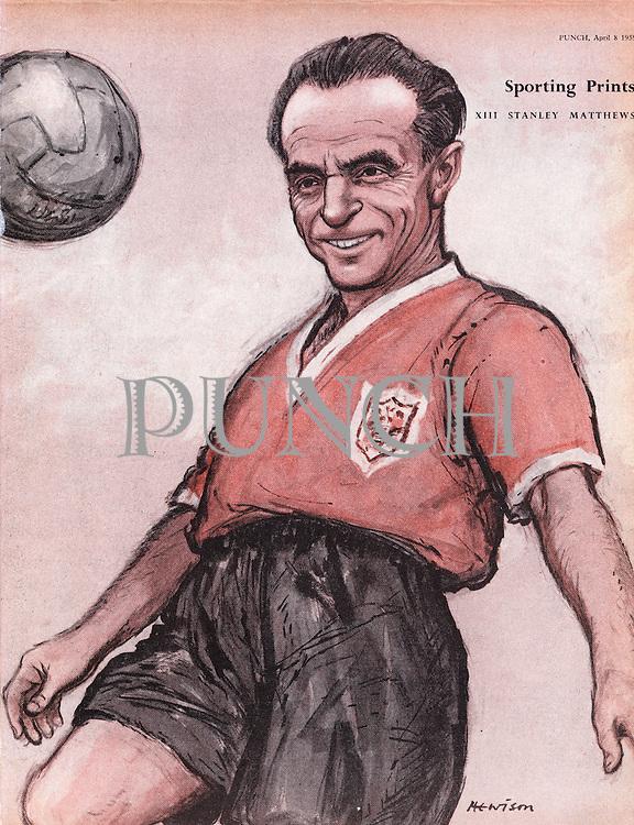 Sporting Prints. XIII Stanley Matthews