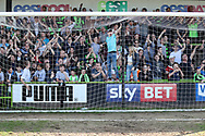 The South stand during the EFL Sky Bet League 2 match between Forest Green Rovers and Chesterfield at the New Lawn, Forest Green, United Kingdom on 21 April 2018. Picture by Shane Healey.