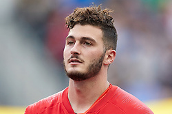May 28, 2018 - Chester, PA, U.S. - CHESTER, PA - MAY 28: United States goalkeeper Alex Bono (22) looks on during the national anthem prior to the start of the international friendly match between the United States and Bolivia at the Talen Energy Stadium on May 28, 2018 in Chester, Pennsylvania. (Photo by Robin Alam/Icon Sportswire) (Credit Image: © Robin Alam/Icon SMI via ZUMA Press)