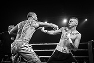 Ultimate bare-Knuckle boxing competition at Manchester's Bowlers Exhibition Centre, Old Trafford, Manchester, UK.<br /> Photo shows Jay 'BamBam' Eggleston, who won his fight against Reece Drummond.<br /> Photo ©Steve Forrest/Workers' Photo