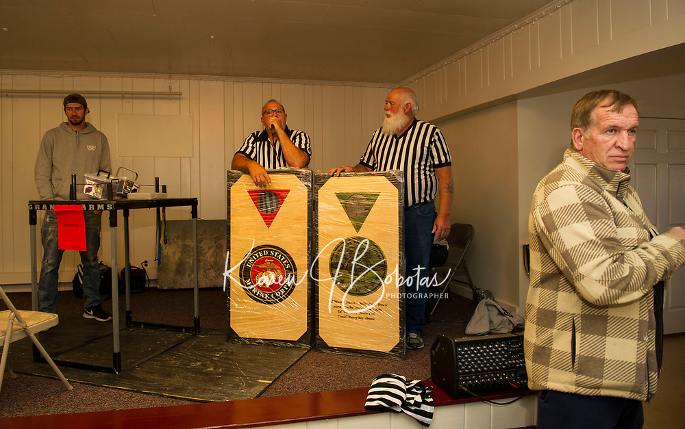 Arm Wrestling Tournament to benefit the Fallen 7 at the Laconia VFW.  Karen Bobotas for the Laconia Daily Sun
