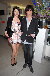 JACKSON SCOTT and BEN GRIMES at a reception hosted by Vogue magazine to launch photographer Tim Walker's book 'Pictures' sponsored by Nude, held at The Design Museum, Shad Thames, London SE1 on 8th May 2008.<br /><br />NON EXCLUSIVE - WORLD RIGHTS