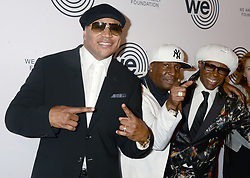 LL Cool J, Grandmaster Flash and Nile Rodgers arriving to the We Are Family Foundation Celebration Gala at Hammerstein Ballroom on April 27, 2018 in New York City, NY, USA. Photo by Dennis van Tine/ABACAPRESS.COM