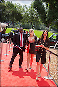 ISAAC AYER-KUMI; ? JULIA PASARA, Masterpiece London 2014 Preview. The Royal Hospital, Chelsea. London. 25 June 2014.