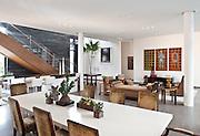 Franco Residence Golden Beach, Florida. Interiors by Deborah Wecselman Design. Photo by Robin Hill (c)