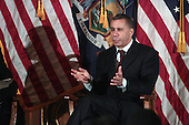 Governor David Patterson holds Town Meeting at Brooklyn's Borough Hall on March 8, 2010