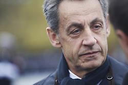 Nicolas Sarkozy during the Ceremonies commemorating November 11th 1918 in Paris, France on November 11th, 2017. Photo by Denis Allard/Pool/ABACAPRESS.COM