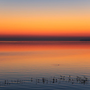 """""""Peace at Sunrise""""<br /> <br /> Soothing pastel hued sunrise on Lake Huron in Michigan's Upper Peninsula!!<br /> <br /> The Great Lakes by Rachel Cohen"""