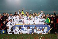 Fotball<br /> VM for klubblag<br /> 16.12.2007<br /> AC Milan vinner<br /> Foto: imago/Digitalsport<br /> NORWAY ONLY<br /> <br /> Klub Weltmeister 2007 - Mannschaftsbild Klub Weltmeister AC Mailand
