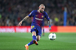 March 14, 2018 - Barcelona, Spain - ALEIX VIDAL of FC Barcelona FC during the UEFA Champions League, round of 16, 2nd leg football match between FC Barcelona and Chelsea FC on March 14, 2018 at Camp Nou stadium in Barcelona, Spain (Credit Image: © Manuel Blondeau via ZUMA Wire)