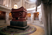 Napoleon Bonaparte's Tomb, Cathédrale Saint-Louis-des- Invalides, Paris, France