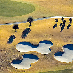 Aerial view of Nancy Lopez Golf Course at the Villages in  Central Florida