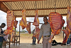 Sections Of Meat After Slaughter