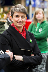 Pictured: Maggie Chapman, Greens co-convener<br /> <br /> As part of her visit to Scotland to support Greens candidates in the Scottish election, Green MP Caroline Lucas joined Scottish Greens colleagues Maggie Chapman, Greens co-convener, Mark Ruskell, candidate for Mid Scotland and Fife, Kirsten Robb, candidate for Central Scotland and John Wilson, candidate for Central Scotland, to meet anti-fracking campaigners in Falkirk <br /> <br /> Ger Harley | EEm 29 April 2016