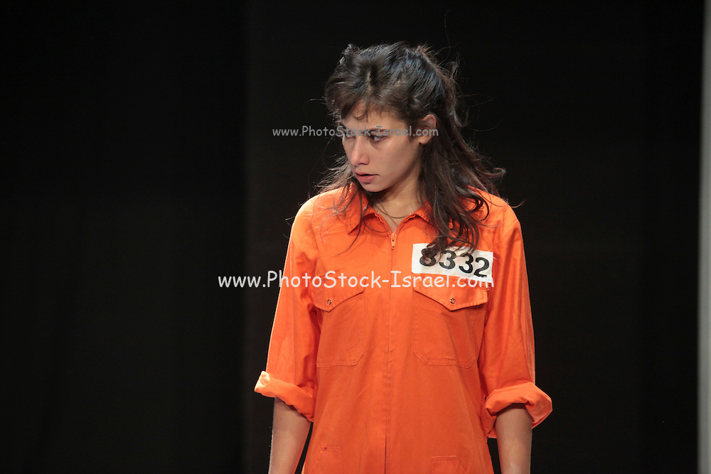 Shay-li Hirsch, Young Israeli Actress,  on stage