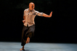 The first ever family show created by Akram Khan, one of Britain's most respected choreographers and dancers. Chotto Desh is reworked from his Olivier Award-winning autobiographical solo show DESH. It is performed by Dennis Alamanos and Nicolas Ricchini on alternate performances.Edinburgh International Conference Centre,13th August 2016 (c) Brian Anderson   Edinburgh Elite media