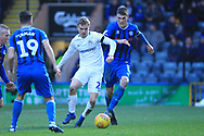 Ryan Delaney looks to win the ball during the EFL Sky Bet League 1 match between Rochdale and Coventry City at Spotland, Rochdale, England on 9 February 2019.