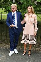 Boris Becker, Lilly Becker, The Serpentine Gallery Summer Party, Serpentine Gallery, London UK,  06 July 2016, Photo by Richard Goldschmidt