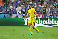 Romania Midfielder Ovidiu Hoban during the Group A Euro 2016 match between France and Romania at the Stade de France, Saint-Denis, Paris, France on 10 June 2016. Photo by Phil Duncan.