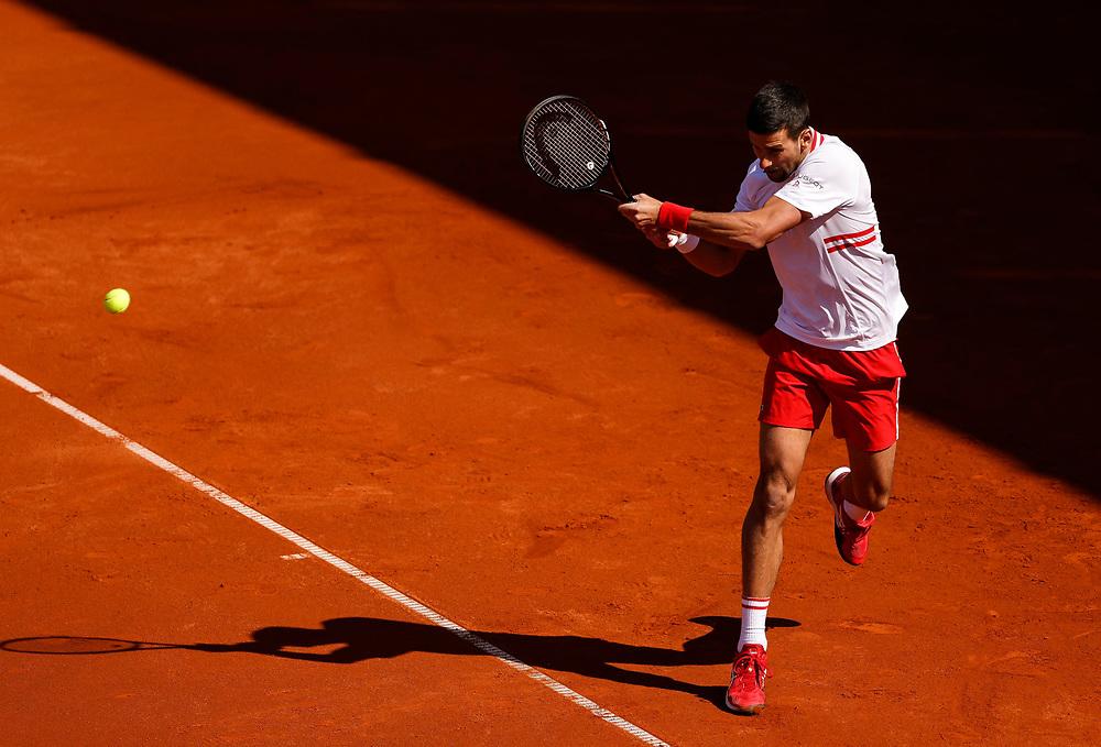 Tennis-ATP Serbia Open Belgrade 2021<br /> Novak Djokovic v Miomir Kecmanovic<br /> Beograd, 23.04.2021.<br /> foto: Srdjan StevanovicStarsportphoto ©