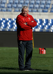 February 8, 2019 - Rome, Italy - Wales captain's run - Rugby Guinness Six Nations .Wales rugby captain's run in view of the match versus Italy. Wales head coach Warren Gatland at Olimpico Stadium in Rome, Italy on February 8, 2019. (Credit Image: © Matteo Ciambelli/NurPhoto via ZUMA Press)