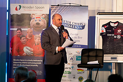 David Flatman at the annual Exeter Chiefs Foundation Christmas Dinner at Sandy Park - Ryan Hiscott/JMP - 07/12/2018 - RUGBY - Sandy Park - Exeter, England - Exeter Chiefs Foundation Christmas Dinner with David Flatman